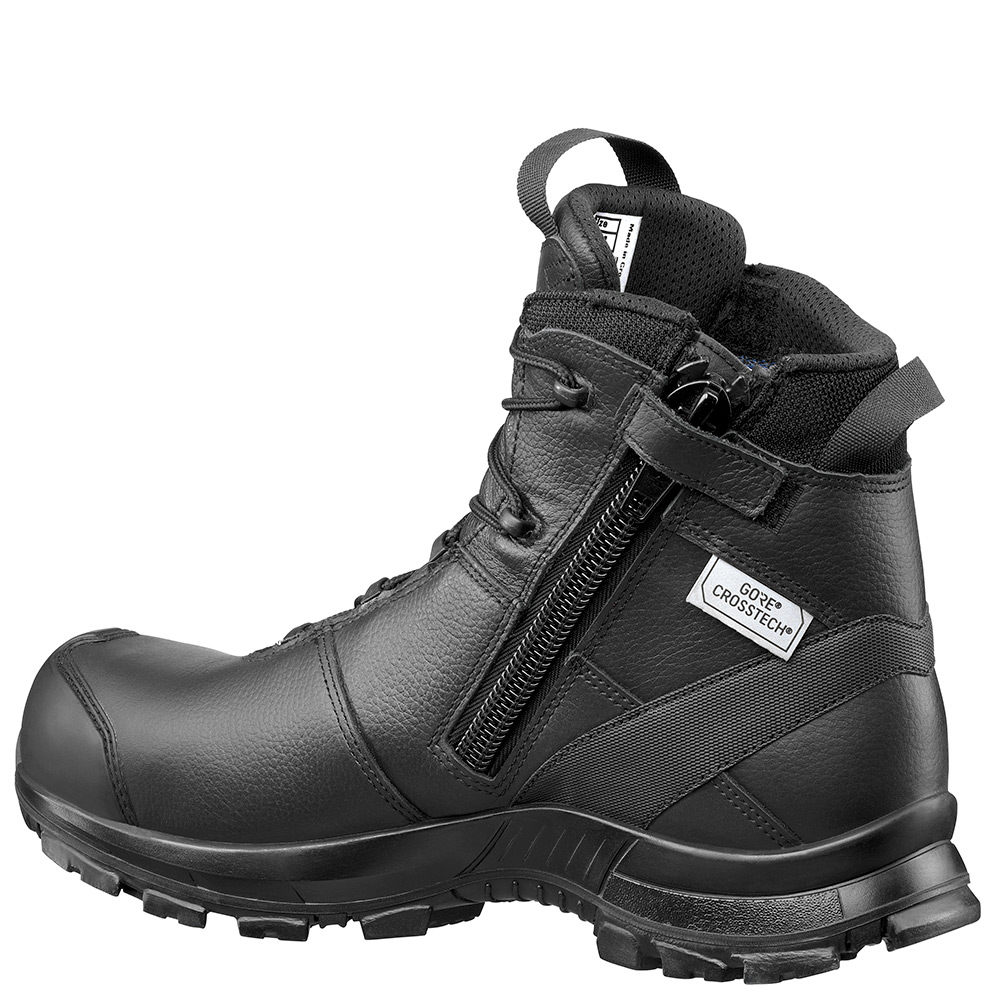 Haix Black Eagle Safety 55 | Black Leather Safety Boots